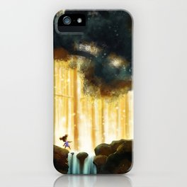 A Step Toward the Magical Wood iPhone Case