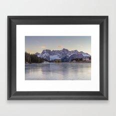 The Thin Ice Framed Art Print