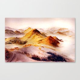 Vorarlberg in Austria Canvas Print