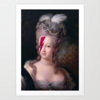 marie antoinette Art Prints featuring Marie Antoinette by lapinette