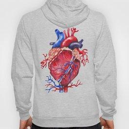 Watercolor heart Hoody