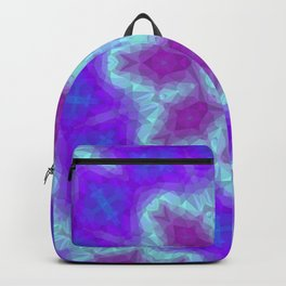 Low Poly Kaleidoscope Backpack