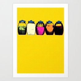 Aguas Frecas Art Print
