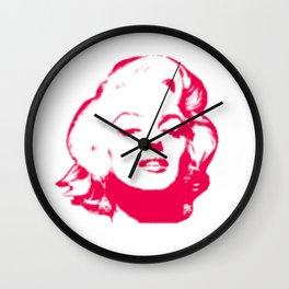 MARILYN POP Wall Clock