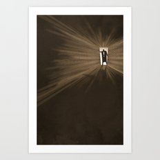 Hurry Art Print