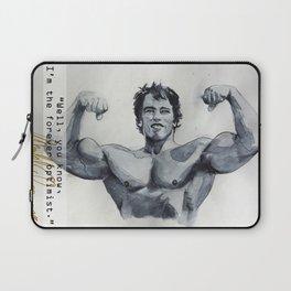 Arnold the optimist Laptop Sleeve
