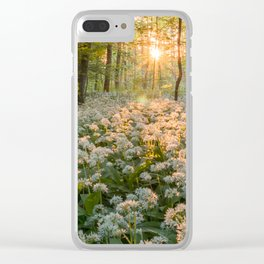 Bear's Garlic Forest Clear iPhone Case