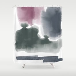 Introversion XI Shower Curtain