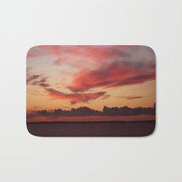 Sultry sunset Bath Mat