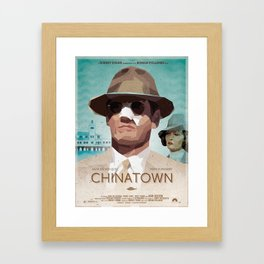 Chinatwon fanart movie poster Framed Art Print