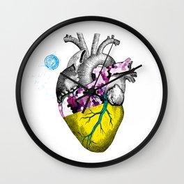 heart, felt Wall Clock