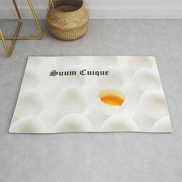 White Eggs Rug