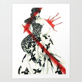 Alexander McQueen Art Print