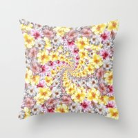 bali Throw Pillows featuring bali twist by gasponce