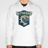 quidditch Hoodies featuring Hogwarts Quidditch Teams - Slytherin by Deadround