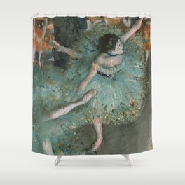 Swaying Dancer - Edgar Degas Shower Curtain