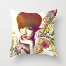 Inspiration Evaporation Throw Pillow