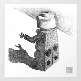 So Long Legoman Art Print