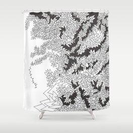Doodle 5 Shower Curtain