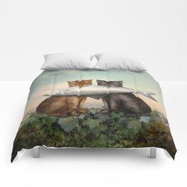 Enjoy Your Dinner Comforters