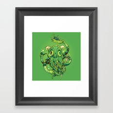 Sir Charles Cthulhu Framed Art Print