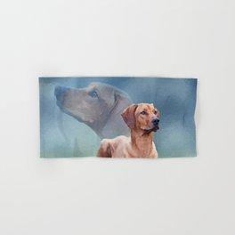 Rhodesian Ridgeback Dog Collage Hand & Bath Towel