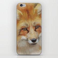 The Red Fox iPhone & iPod Skin