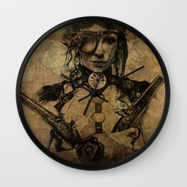 old map Wall Clock