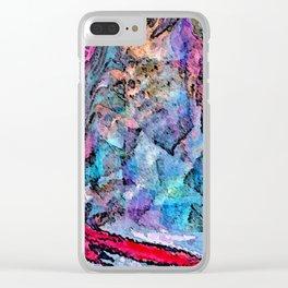 Rothko's Eye Clear iPhone Case