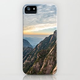 The Yellow Mountains, Anhui, China iPhone Case