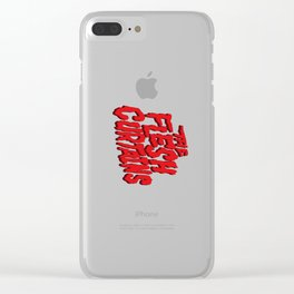 The Flesh Curtains Clear iPhone Case