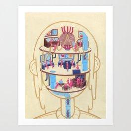 Anatomy Pt. I Art Print