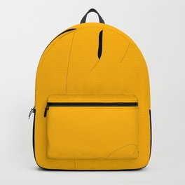 Looked by yellow zone !! Backpack