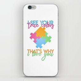 Autism Colors v1.0 iPhone Skin