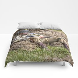 Time out. Comforters