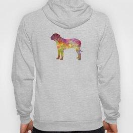Bullmastiff in watercolor Hoody