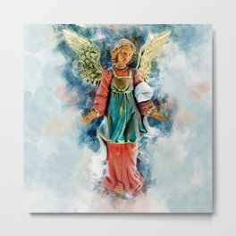 Angels Guidance Metal Print