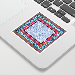 Peruvian Fabric Sticker