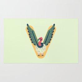 V for Vulture Rug