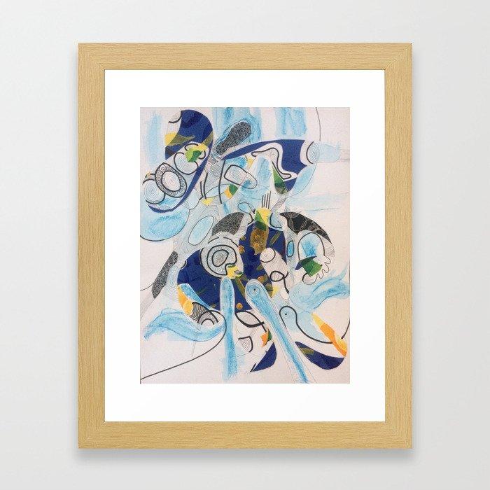 Celestial Body Framed Art Print