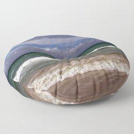 Water, Waves, Sand... | Nadia Bonello Floor Pillow