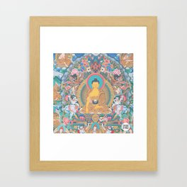 BUDDHA PEACE Framed Art Print