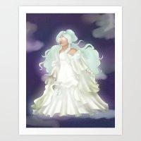 Princess Uye Art Print
