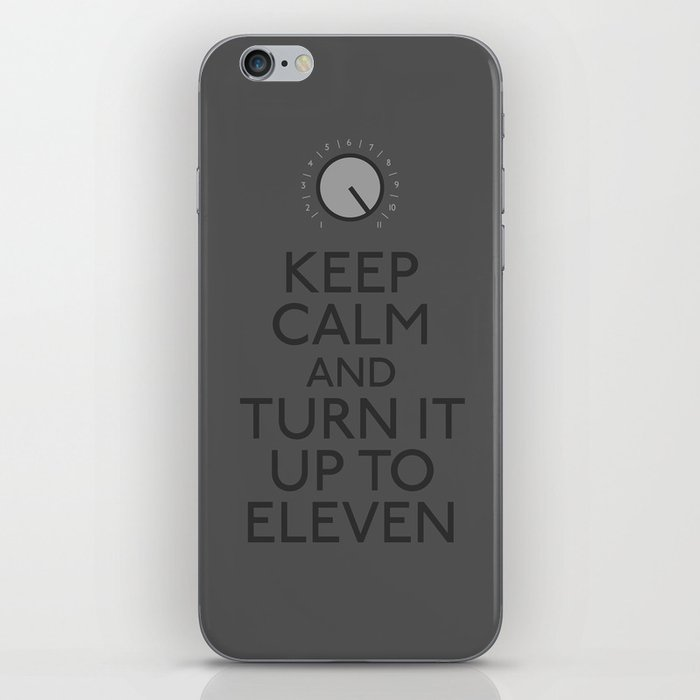 Turn it up to eleven iPhone Skin