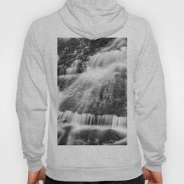 Wild waters. Mountain waterfall. Sierra Nevada Hoody