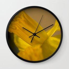 Daffodil. Wall Clock
