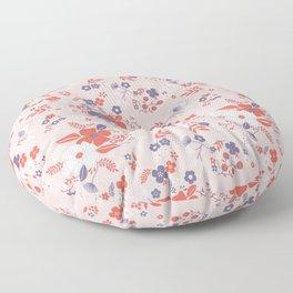 Wild Flowers III Floor Pillow