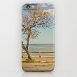 Boardwalk of Piriapolis City -Uruguay iPhone Case