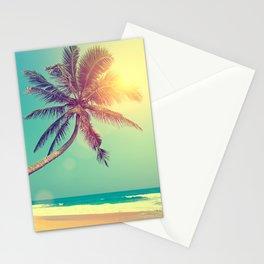 Palm Tree in Sri Lanka Stationery Cards