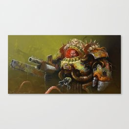 Deathguard Terminator Canvas Print